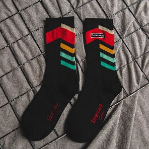 Vigorous Arrows Street Style Socks for Youngsters * 3 Variants*