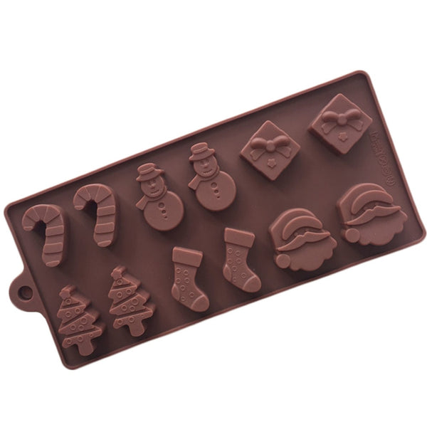 Must-have Christmas Cake/Chocolate Silicone Mould *6 shapes*