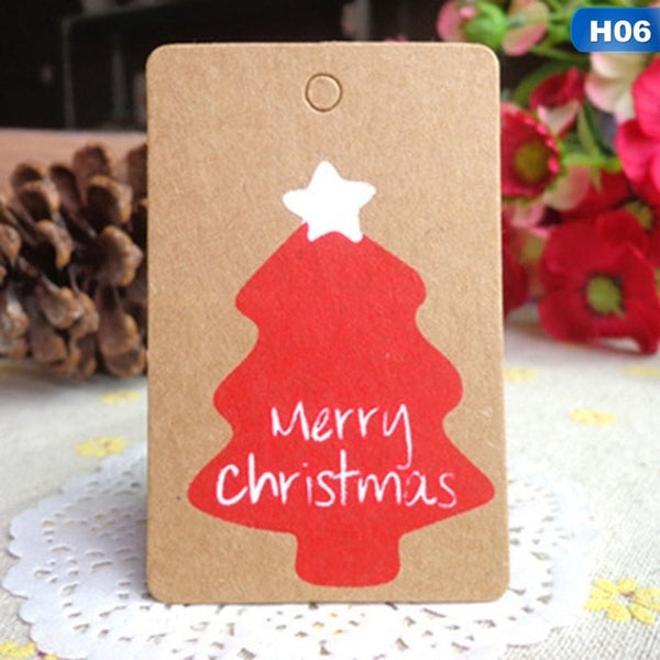 Kraft Christmas Decoration Gift Tags *50pcs/lot*