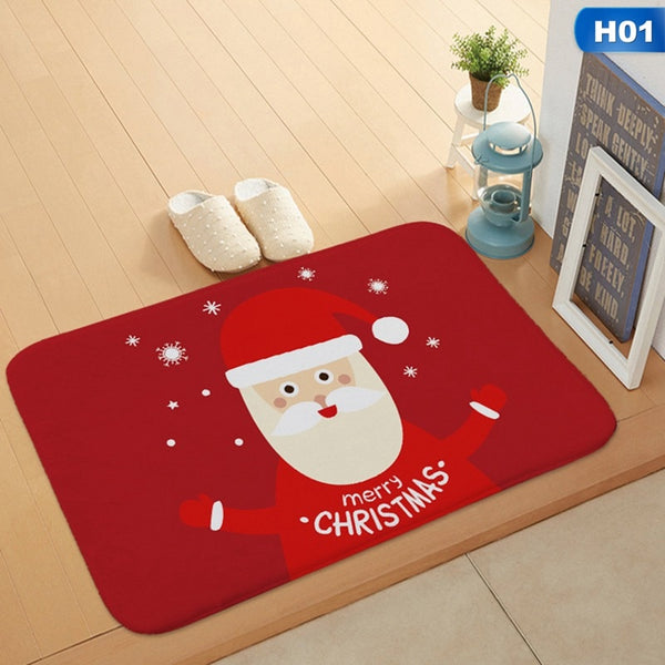 Christmas HD Printed Non-Slip Bath Mat *12 Pattern*