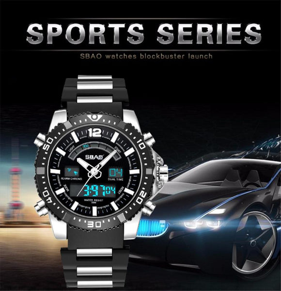 Playful Vigor Sport Waterproof Watch - Watch for men