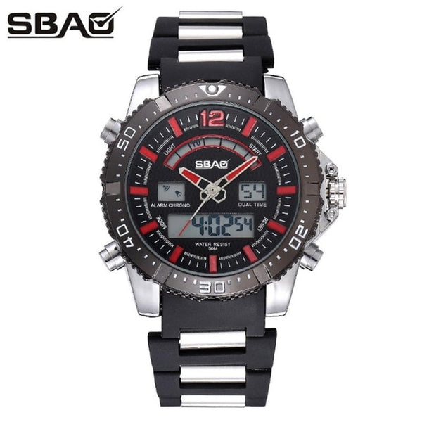 Playful Vigor Sport Waterproof Watch - Men Watches | Secretgiftsformen