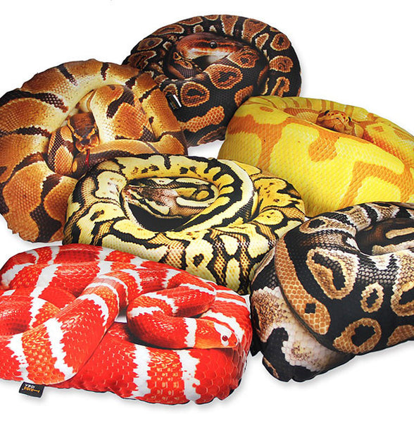 Cool Live Printing Python Cushion *6 Variants*