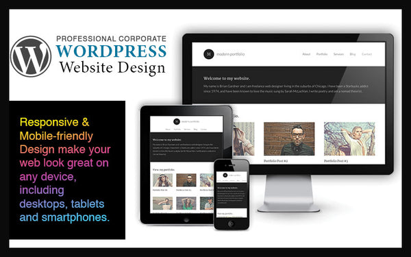 Build Mobile-Friendly Professional Website - Gifts For BUSINESS OWNERS!!!