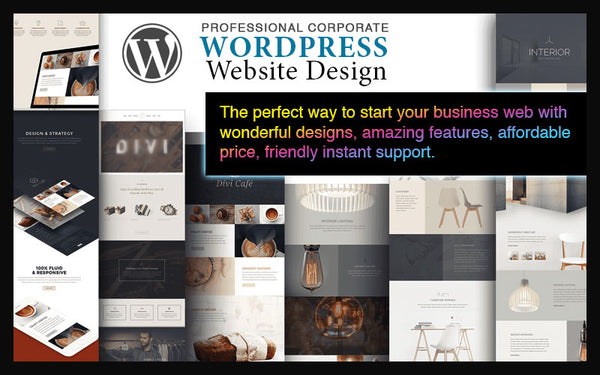 CYBER MONDAY AND BLACK FRIDAY SPECIAL WordPress Website Design Gifts For BUSINESS OWNERS!!!