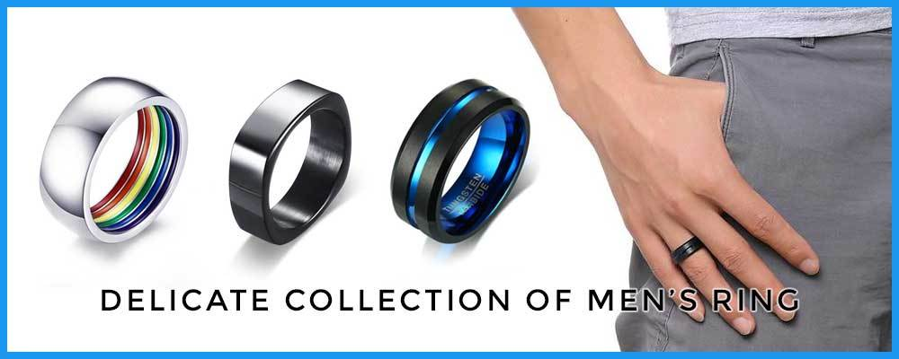 Delicate Collection of Men's Ring