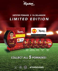 LIMITED EDITION HIPSTER POMADE X FA SELANGOR