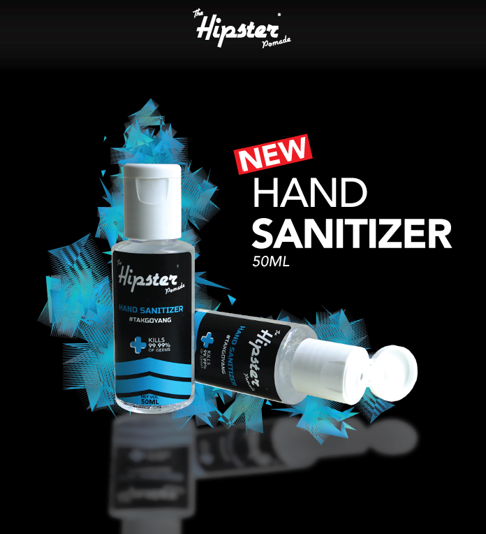 HIPSTER POMADE LIMITED EDITION HAND SANITIZER