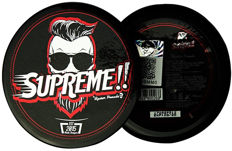 Hipster Pomade SUPREME!! (RED)