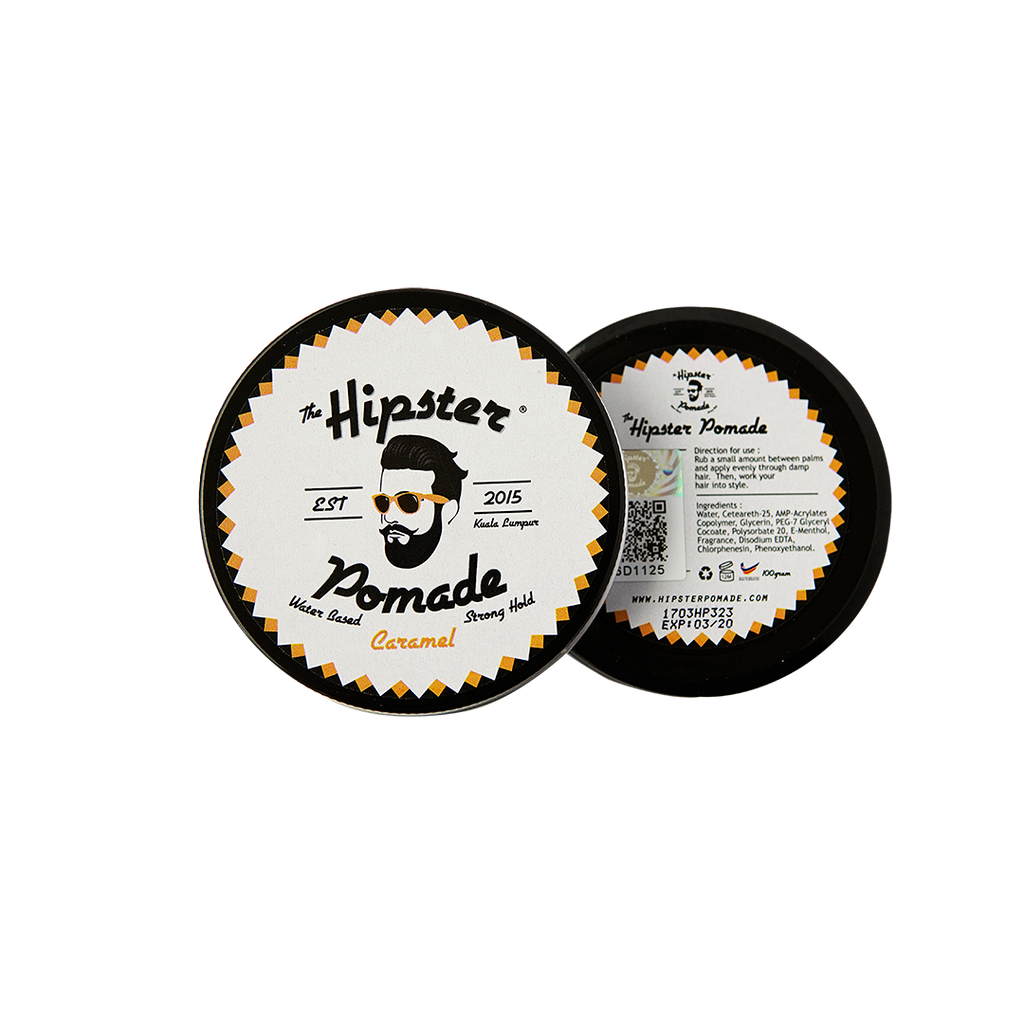 Hipster Pomade Caramel (New Release)
