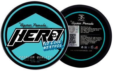 Hipster Pomade HERO (ICE COOL MENTHOL)