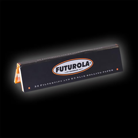 FUTUROLA SLIM KING SIZED ROLLING PAPERS & TIPS