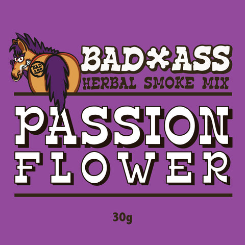 BAD-ASS PASSIONFLOWER HERBAL SMOKE MIX -30gm