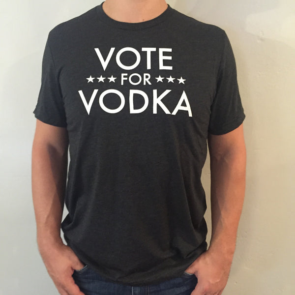 vote for vodka unisex tee
