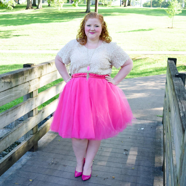 The Ballerina Skirt on With Wonder and Whimsy