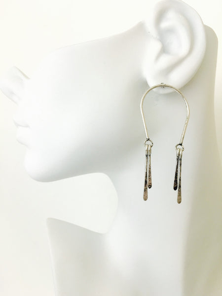 Horseshoe Dangle Earrings