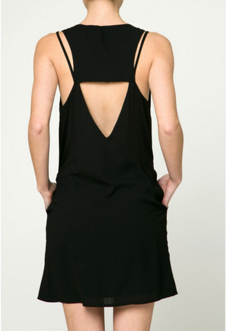 Little Black Dress with Back detail
