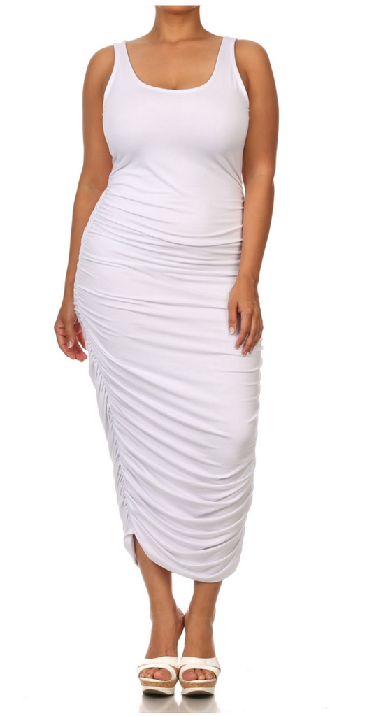 The Cotton Midi Dress
