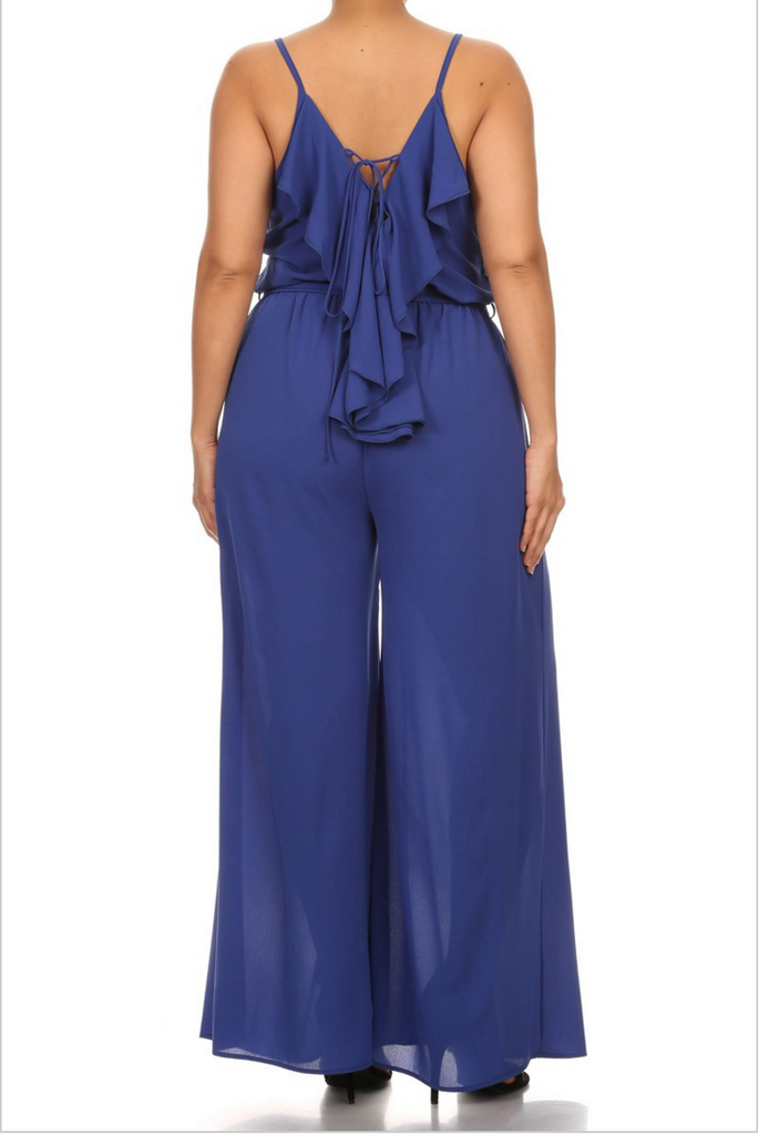 The Lace-Up-Back Jumpsuit
