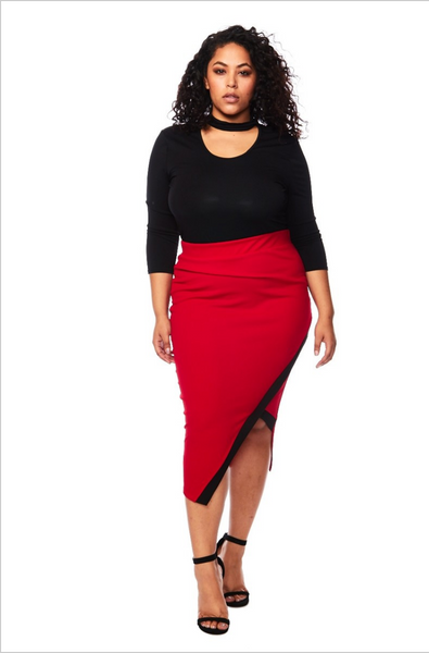 The Envelope Pencil Skirt