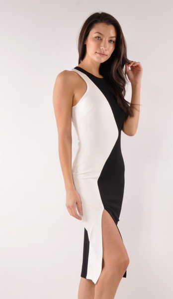 The Color Block Sheath Dress