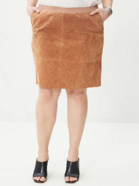 The Suede Skirt