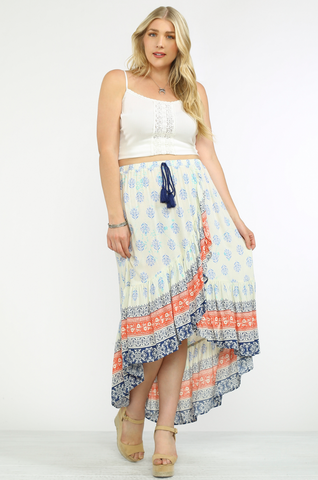 The Tribal Wrap Skirt