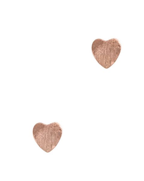 Signature Heart Stud Earrings