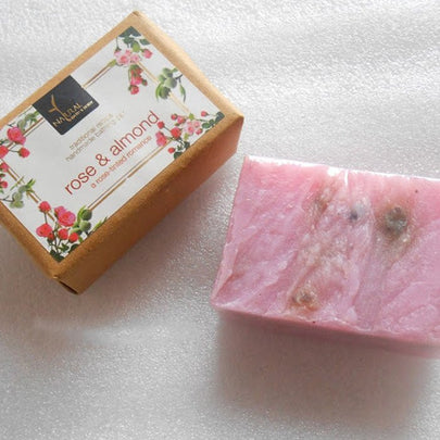 Sriz Beauty Blog - Rose and Almond Soap Review