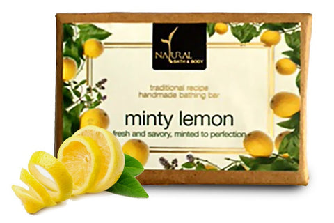 Minty Lemon Bathing Bar