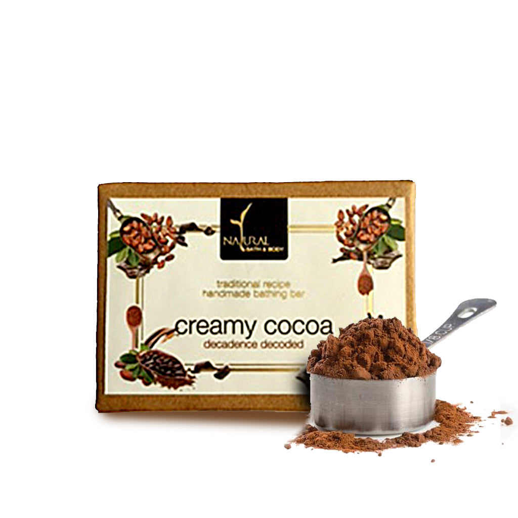 Creamy Cocoa Bathing Bar - Natural Bath & Body