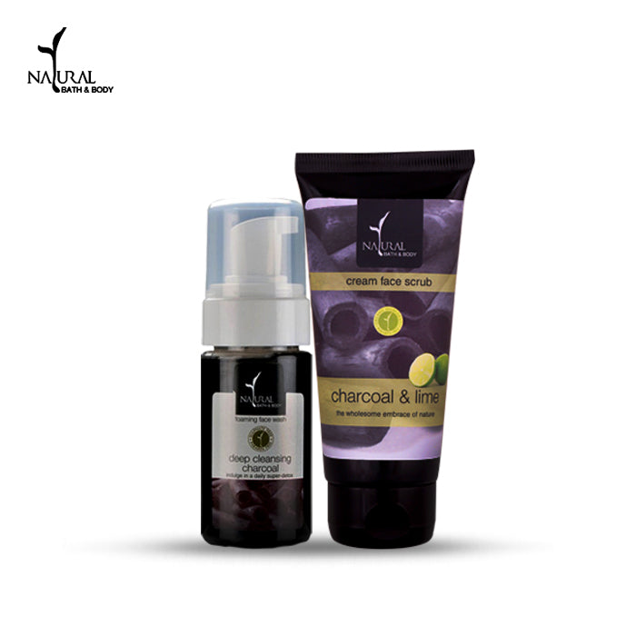 Deep Cleansing Charcoal Duo - Natural Bath & Body