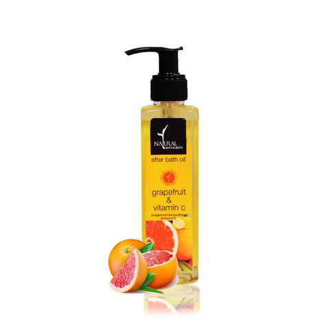 Grapefruit & Vitamin C After Bath Oil - Natural Bath & Body