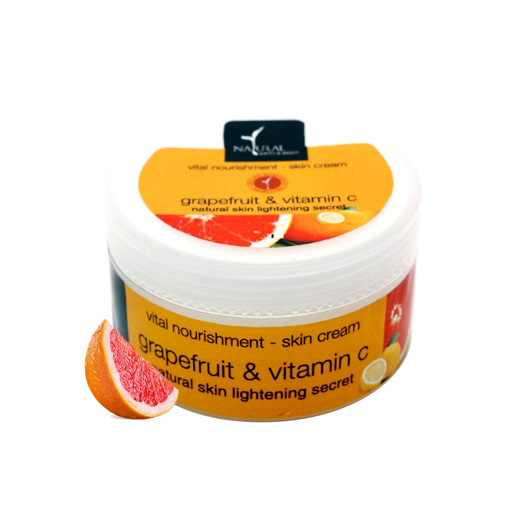 Grapefruit & Vitamin C Vital Nourishment Skin Cream - Natural Bath & Body