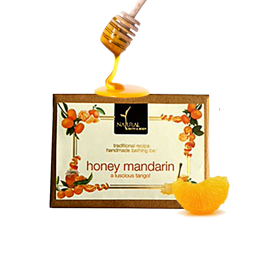 Honey Mandarin Bathing Bar - Natural Bath & Body