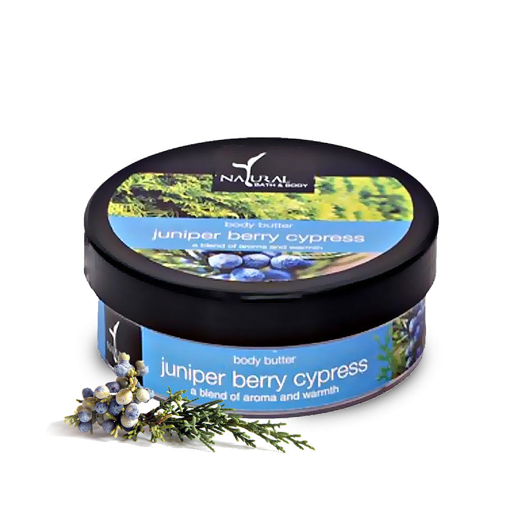 Juniper Berry Cypress Body Butter - Natural Bath & Body