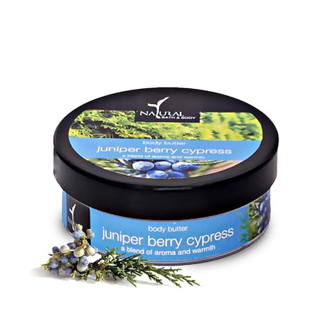 Juniper Berry & Cypress Body Butter - Natural Bath & Body