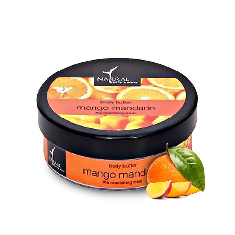 Mango Mandarin Body Butter - Natural Bath & Body