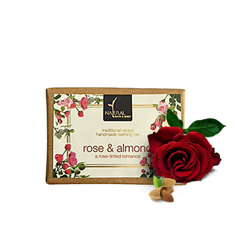 Rose & Almond Bathing Bar - Natural Bath & Body