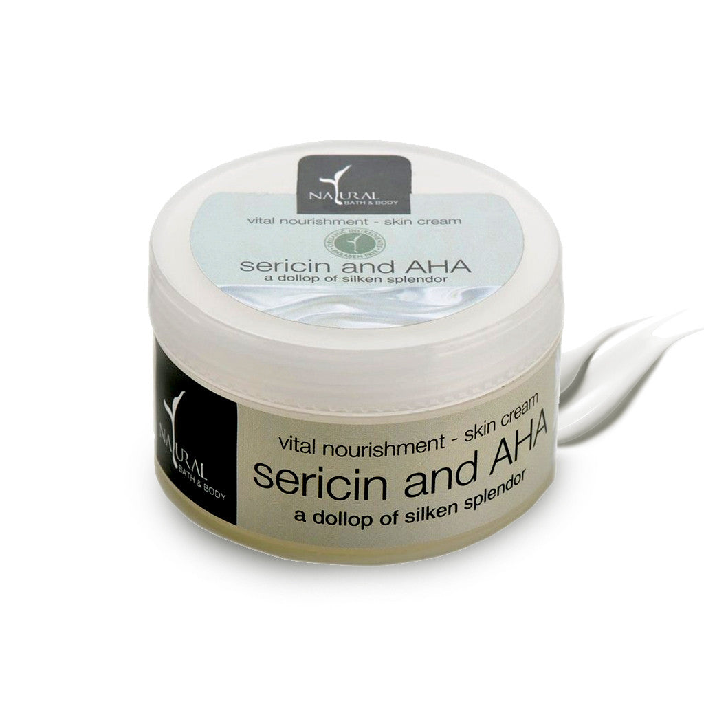 Sericin & AHA Vital Nourishment Skin Cream - Natural Bath & Body