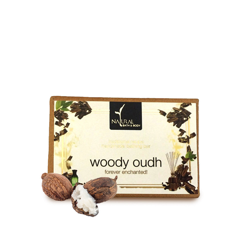 Woody Oudh Bathing Bar - Natural Bath & Body
