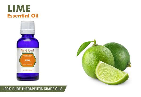 100% Pure Natural Lime Essential Oil PREMIUM Therapeutic Grade Oils