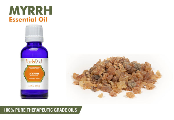100% Pure Natural Myrrh Essential Oil PREMIUM Therapeutic Grade Oils-herbadiet