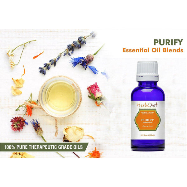 Essential Oil Blends - Purify Cleansing Essential Oil Blend Natural Disinfectant Therapeutic Grade Oils
