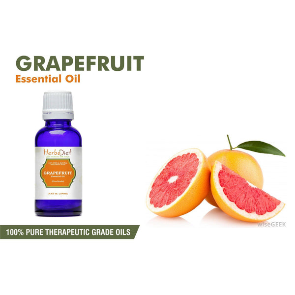Essential Oil Singles - 100% Pure Natural Grapefruit Essential Oil PREMIUM Therapeutic Grade Oils