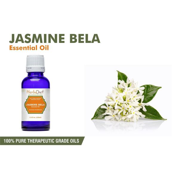 Essential Oil Singles - 100% Pure Natural Jasmine Essential Oil PREMIUM Therapeutic Grade Oils