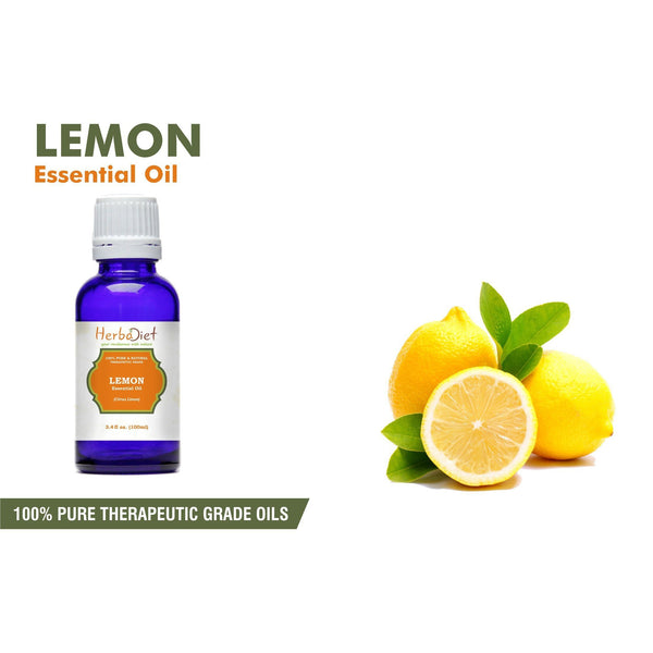 Essential Oil Singles - 100% Pure Natural Lemon Essential Oil PREMIUM Therapeutic Grade Oils