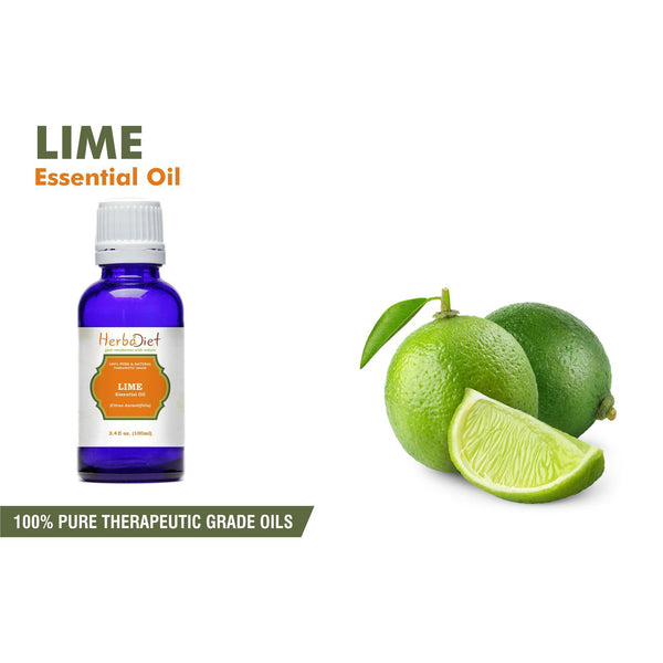 Essential Oil Singles - 100% Pure Natural Lime Essential Oil PREMIUM Therapeutic Grade Oils