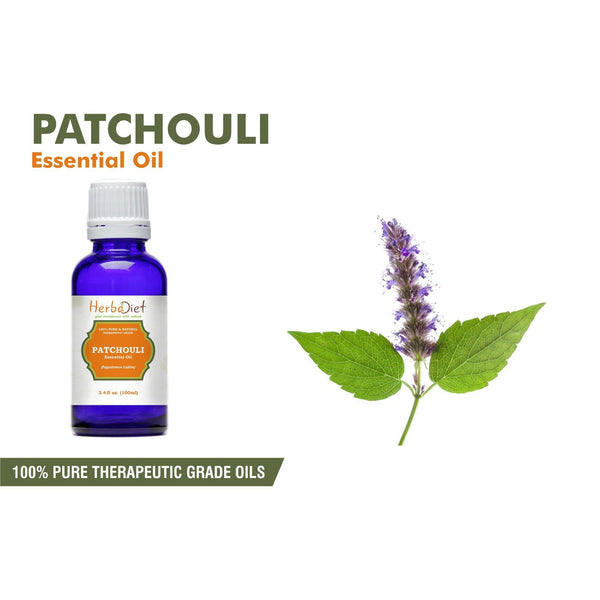 Essential Oil Singles - 100% Pure Natural Patchouli Essential Oil PREMIUM Therapeutic Grade Oils