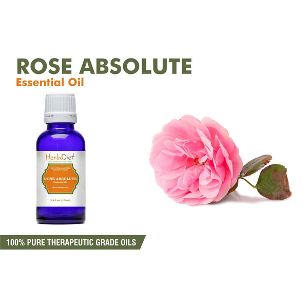 Essential Oil Singles - 100% Pure Natural Rose Essential Oil PREMIUM Therapeutic Grade Oils